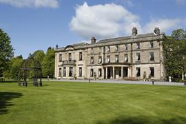 Hotel exterior and grounds front  beamish hall hotel newcastle upon tyne