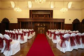 Wedding venue dining room beamish hall newcastle upon tyne