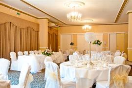 Wedding venue at Oaklands Hall Hotel Grimsby