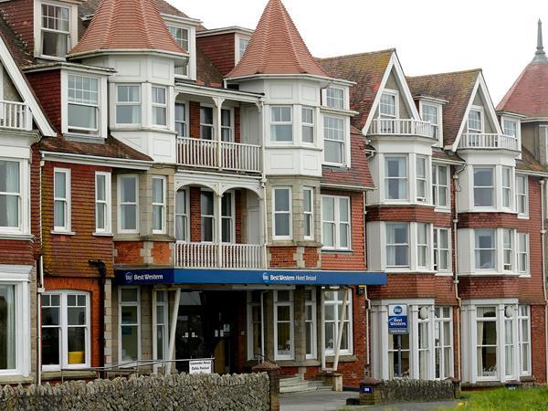 Best Western Hotel Bristol Hotel Grounds