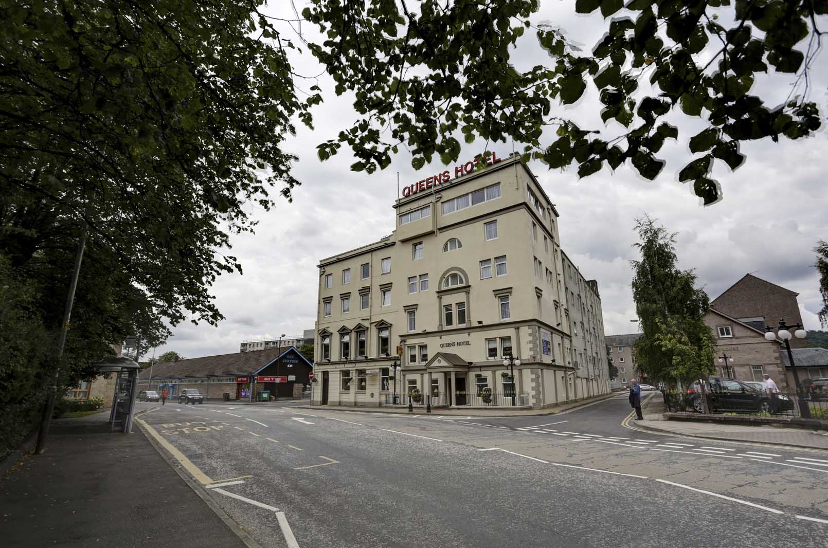 Best Western Queens Hotel Hotels In Perth Perthshire