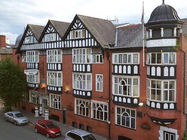 Best Western Chester Hotel Grounds