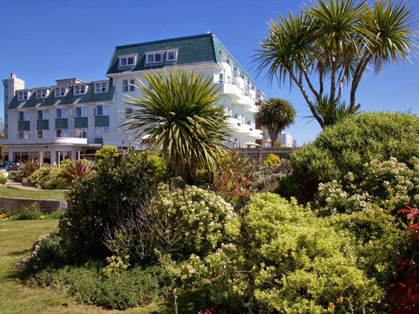 Best Western Bournemouth East Cliff Hotel Grounds