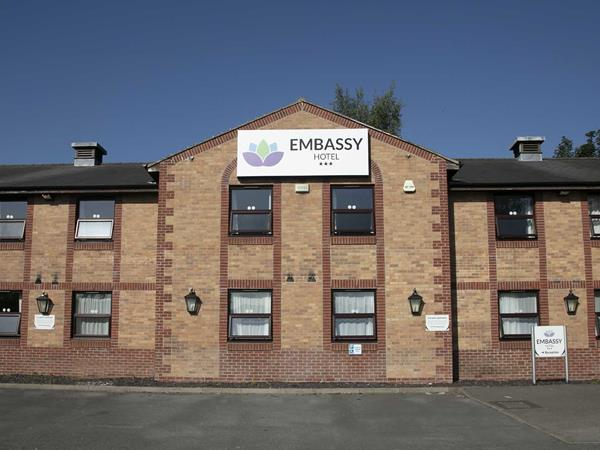 Best Western Embassy Newcastle Hotel Grounds