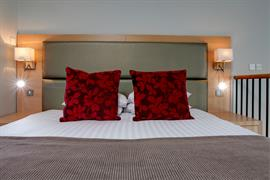 Bedroom interior double bed atlantic hotel chelmsford