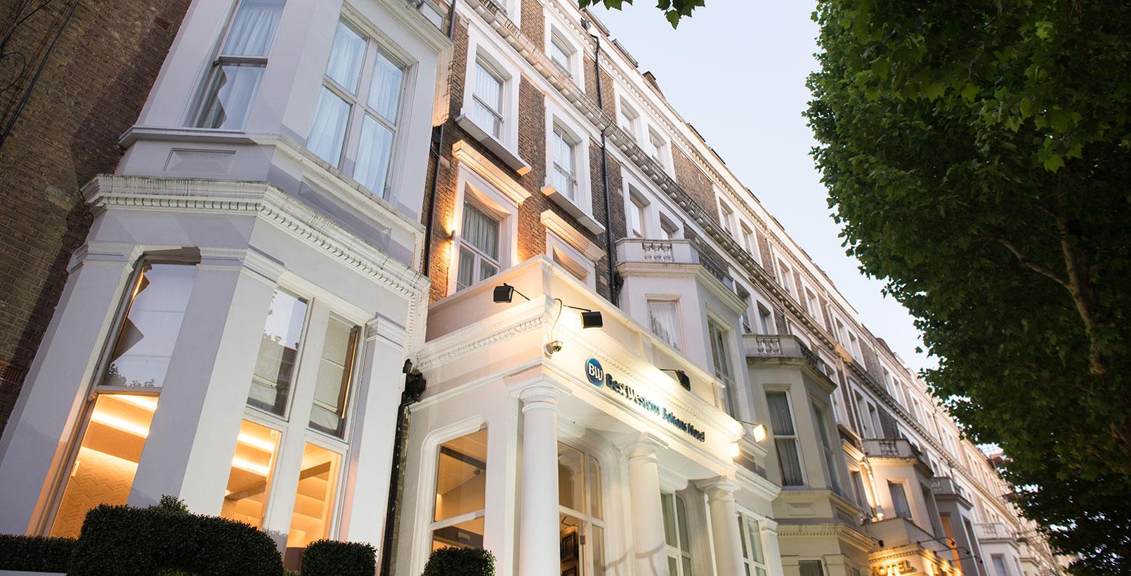 Best Western Boltons Hotel London Kensington Hotels In London