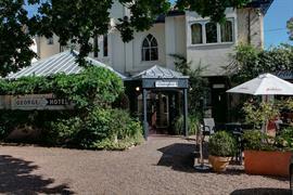 George Hotel entrance