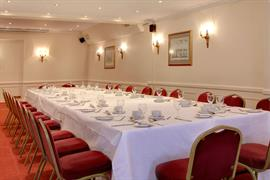 Large meeting room at George Hotel Norwich