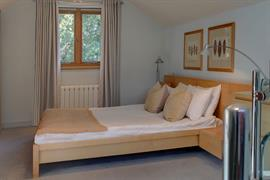 Double bedroom at George Hotel Norwich