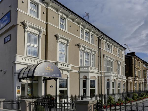 Spitalfields hotels best western for Find hotels in london