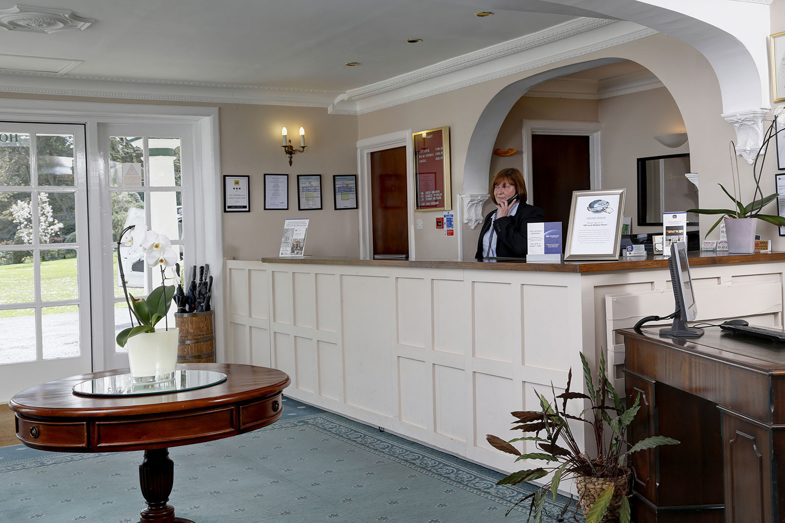 Best Western Exeter Lord Haldon Country Hotel - Country house hotel interiors