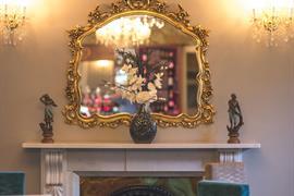 Oaklands Hall Hotel interior