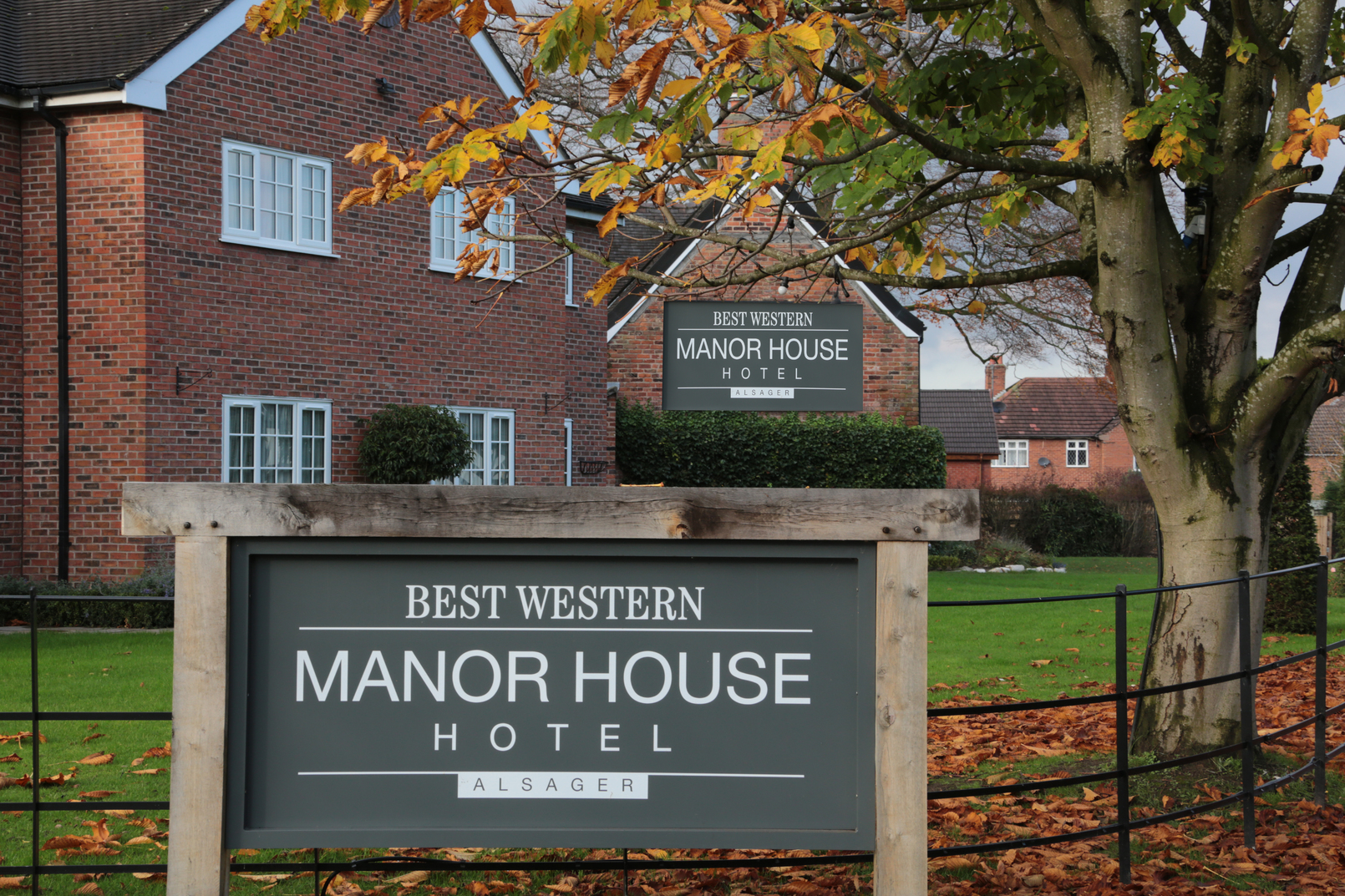 Manor House Hotel Stoke