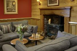 Lounge area at Philipburn House Hotel Selkirk