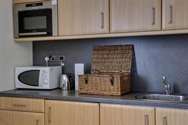 Room interiors kitchen summerhill hotel aberdeen