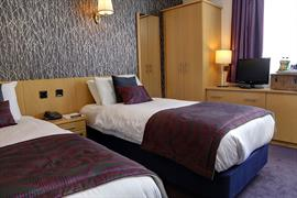 Twin room summerhill hotel aberdeen