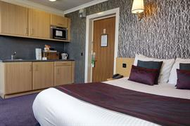 Double studio room summerhill hotel aberdeen