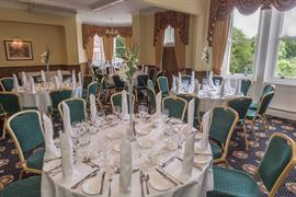 Table arrangements at Moor Hall Hotel Sutton Coldfield