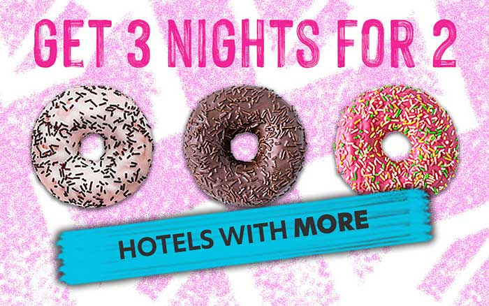 3 nights for 2