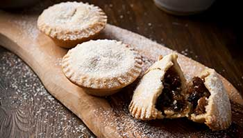 Tuck into a mince pie with a twist